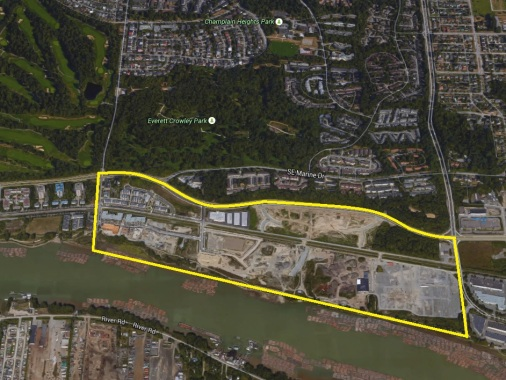 South East Vancouver - River District Site