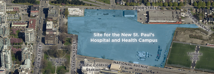 st paul hospital site